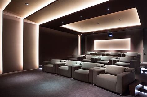 Media Room Furniture by Projects Cineak Home Theater And Cinema Seating