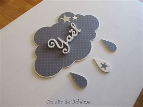 prenom sur porte chambre plaque de porte nuage prenom 3 a 5 lettres gris etoiles