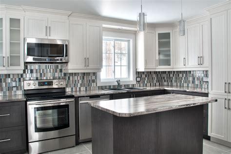 armoires de cuisine comment choisir le matériau du comptoir de cuisine