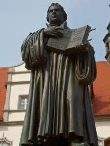 Wittenberg Germany Martin Luther Reformation Statue