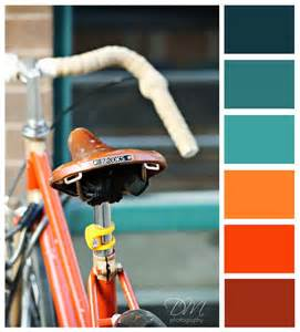 Blue and Orange Color Palette