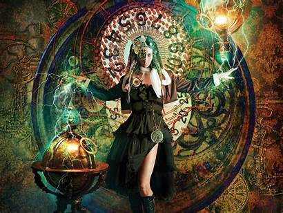 Witches Magic Cyberpunk Wallpapers Seekers Cyberspace Guides