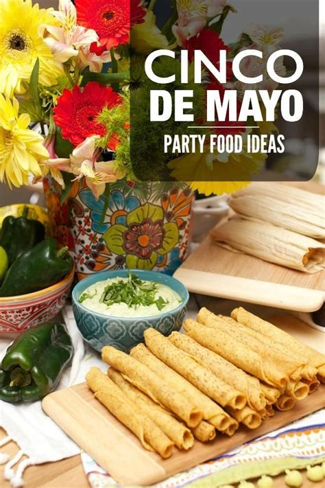 Cinco de Mayo Party Food Ideas #outdoorpartyappetizers ...
