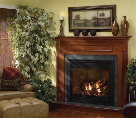 Classic Design Living Room With Kingsman Direct Vent Gas