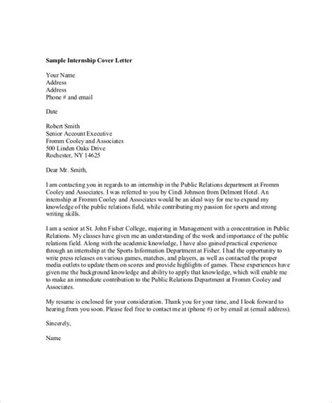 professional cover letter samples   ms word