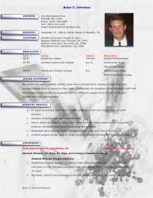resume for pastor template brian johnston ministry resume