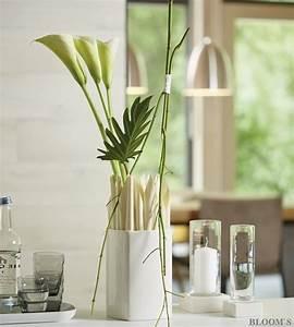 Deko Für Vasen : au ergew hnliche deko f r schlichte vasen tiziano ~ Indierocktalk.com Haus und Dekorationen