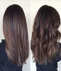 Chocolate brown hair with balayage | hair and beauty ...