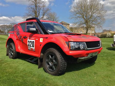 land rover bowler exr s bowler exr s range rover based rally car set for the road
