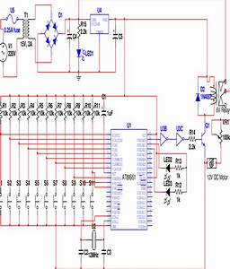 Complete Circuit Diagram Of An Automatic School Bell