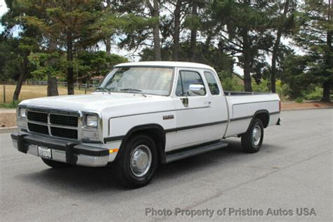 auto repair manual online 1993 dodge d250 lane departure warning 1993 dodge d250 5 9 cummins diesel 5 speed manual 1 owner california truck classic dodge
