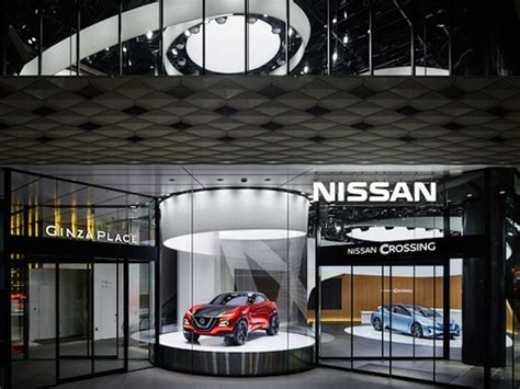 Nissan Showroom In Tokio by Digital Signage Automotive Exciting Flagship In Tokyo