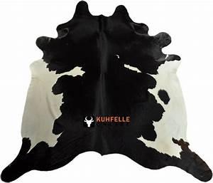 Kuhfell Teppich Weiß : kuhfell teppich schwarz weiss 230 x 200 cm bei kuhfelle online bestellen ~ Yasmunasinghe.com Haus und Dekorationen