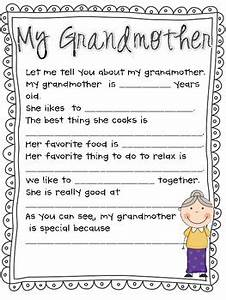 Mother's Day Questionnaire, Survey and Poem ( Grandmother ...