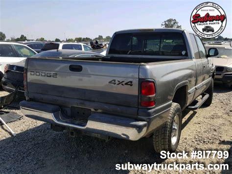 Used Parts Dodge Ram Subway Truck