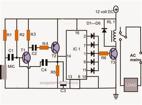 Electronic Circuit Projects Make Simple Clap