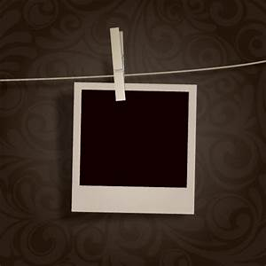 template for hanging pictures - blank photo hanging vector free download