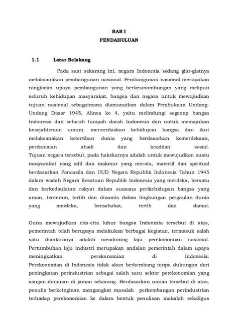 Contoh Permasalahan Ekonomi Deskriptif Di Indonesia