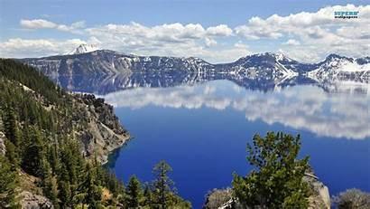 Crater Lake Oregon Wallpapers Desktop Nature Lassen