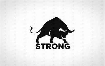 Bull Strong Logos Powerful Lobotz