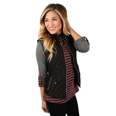 black quilted vest womens call me beautiful quilted vest black impressions