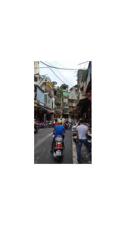 Hanoi Quarter Dien Cement Scooters