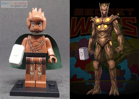 downtheblocks dtb dtb006 thor corps groot aka throot