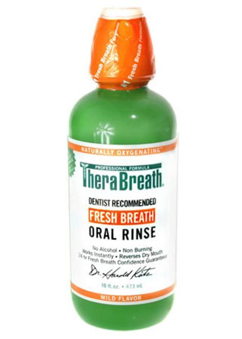 TheraBreath Oral Rinse The original freshmint oxygenating