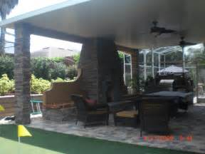 outdoor kitchen roof ideas lanais arbors pergolas screen enclosures and pool enclosures in orlando outdoor