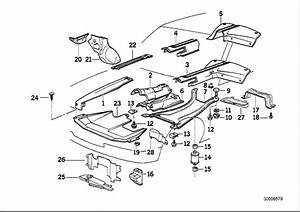 1994 Bmw 525i Cross Member  Suspension  Heat  Gearbox
