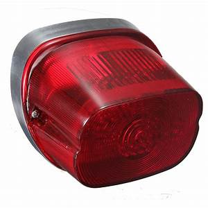 Red Led Tail Light Turn Signal Brake Lamps For Harley