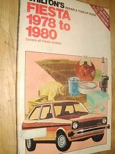 Purchase 1978 1979 1980 Ford Fiesta Shop Manual    Repair