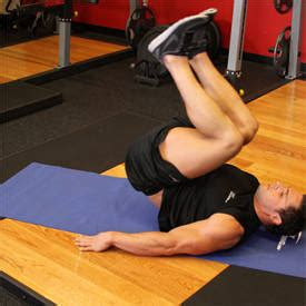 Chair Leg Raises Bodybuilding by Seated Flat Bench Leg Pull In Exercise Guide And