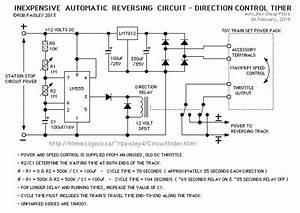 Model Train Auto Reverse  Check My Circuit