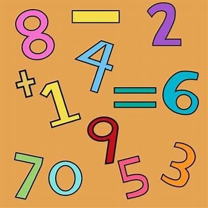 Math Background Symbols Grade Numbers Number Worksheets