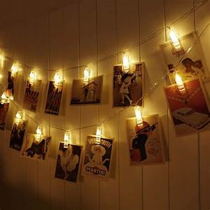 20, Led, Photo, Clip, String, Fairy, Lights, For, Hanging, Pictures, Cards, Artwork, Decorations
