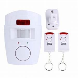 Alarme Voiture Sans Fil : alarme sans fil infrarouge neuf maison garage box achat ~ Dailycaller-alerts.com Idées de Décoration