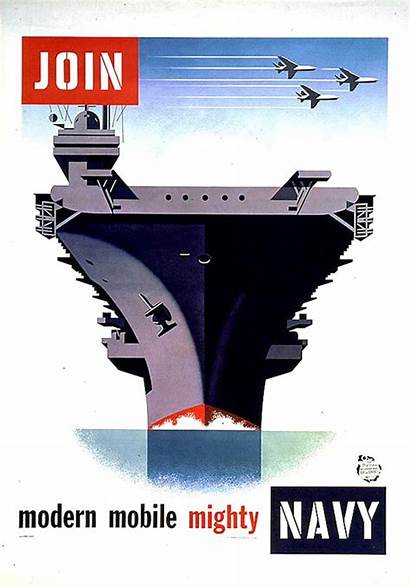 Navy Posters Poster Recruiting Carrier Join Aircraft