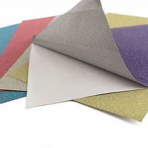 6x9'' Adhesive Back Glitter Paper Red Blue Purple Silver ...
