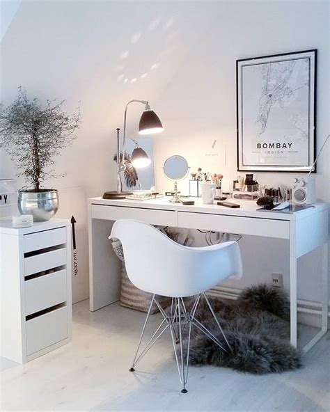 vanity table chair ikea best 25 ikea desk ideas on