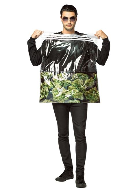 bag  weed costume funny costumes