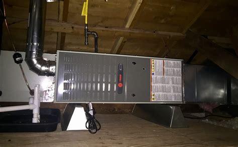 attic heating  cooling attic air handler