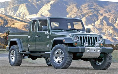 jeep wrangler pickup specs spy shots truck  sale diesel spirotourscom