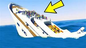 CAN YOU SINK THE YACHT IN GTA 5 YouTube