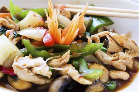 Chinese Moo Goo Gai Pan Recipe