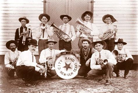 City Band, New Ulm (Austin Co.), Texas, ca. 1920s
