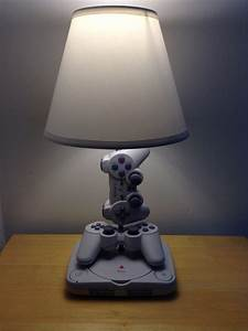 Lamps Made From Old Game Consoles Controllers And