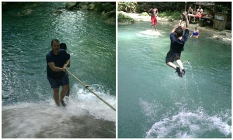 jamaica waterfalls dunns river falls secret falls