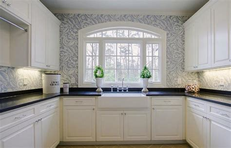 wallpaper ideas for kitchen modern wallpaper for small kitchens beautiful kitchen