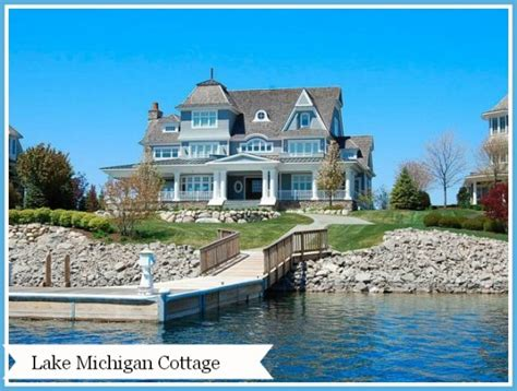 cottages for in michigan home tour a lake michigan cottage
